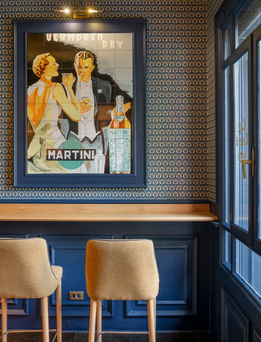 Proyecto interiorismo Café Estoril